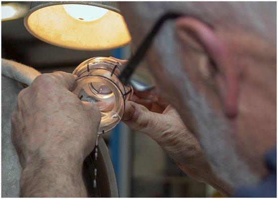 Ring, Ireland: via de binnenkant van het glas
