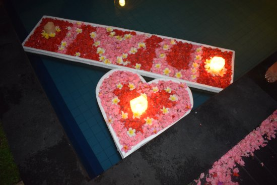 Grand La Villais Villa and Spa Seminyak : The Romantic Dinner