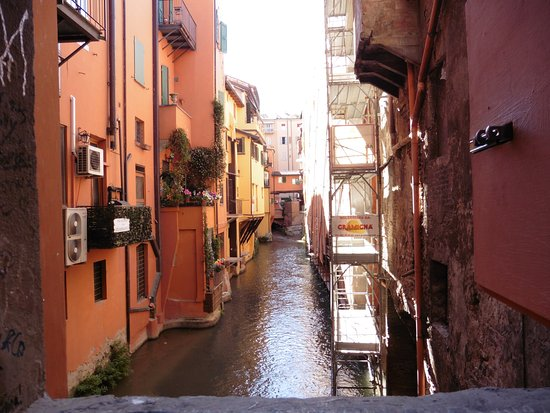 La Piccola Venezia : il canale bognese/veneziano