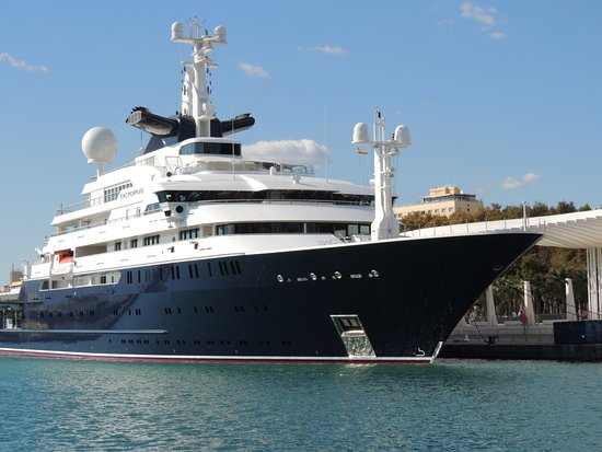 Octupus 136 M Yacht Von Paul Allen Fotografia De Puerto De Malaga