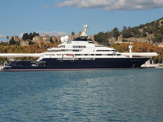 Octupus 136 M Yacht Von Paul Allen Foto Di Puerto De Malaga