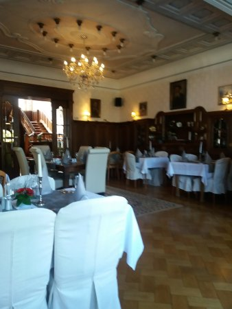 Villa Oranien Hotel Restaurant: tolles Ambiente im Restaurant