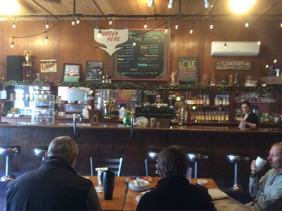 Rivers Coffeehouse in Morton - a community meeting place and a warm welcoming place for a coffee