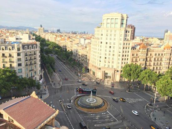roof terrace picture of hotel el avenida palace. Black Bedroom Furniture Sets. Home Design Ideas