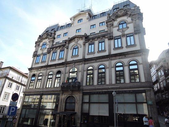 Hotel da Bolsa: façade