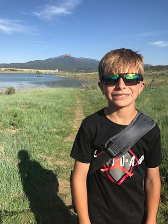 Trinidad, CO: Good time!!! Beautiful campsites. Wonderful playground and awesome views. The hike to fish was f