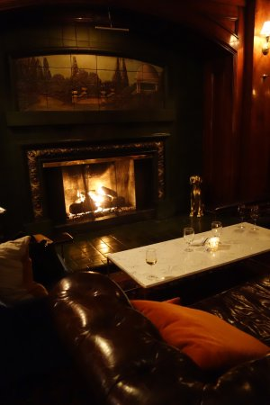 Hotel Sorrento: Fireside lounge