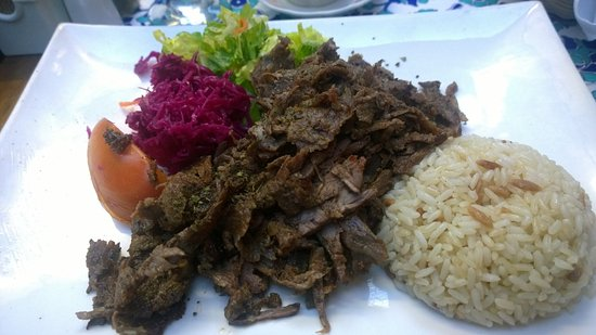 Doner kebab turkish gyro aba turkish restaurant new for Akdeniz turkish cuisine nyc