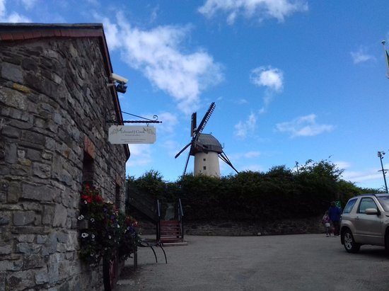 Skerries Mills : The lovely windmill