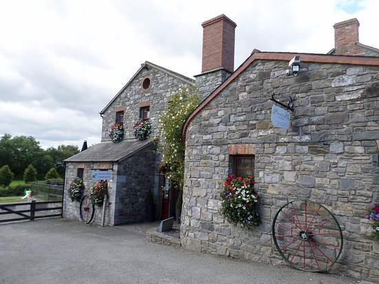 Skerries Mills : Entrance to the windmill