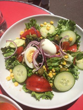 Maisons-Laffitte, Франция: Salade végétarienne
