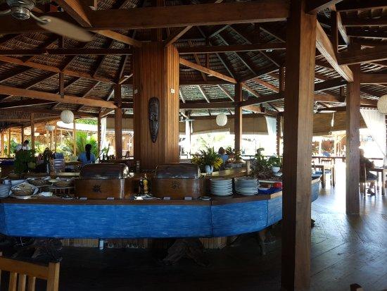 Siladen Island, อินโดนีเซีย: Offerta a colazione