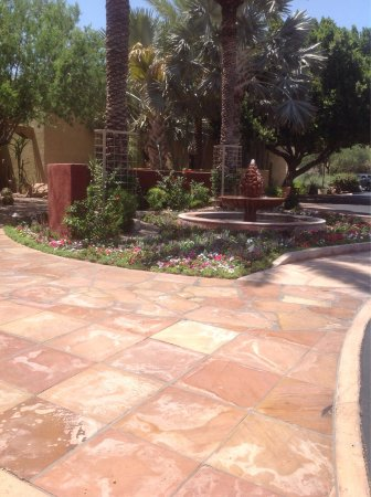 Spa at Camelback Inn : The entrance