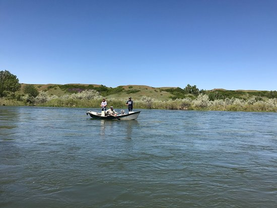 Fort Smith, MT: Guided Boat on the Bighorn River