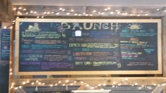 Northwood, NH: Unusual menu!