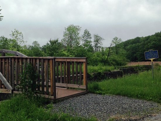 Clifton Park, NY: Remnants of a Canal lock