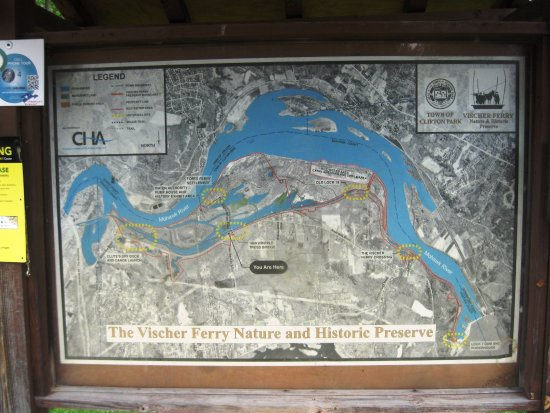Clifton Park, NY: Map of the Preserve