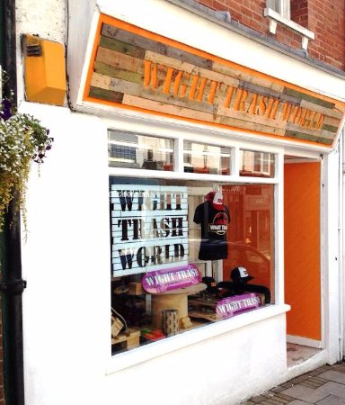 Ryde, UK: Wight Trash World - Open Mon/Thur/Fri/Sat 10.30am-6pm