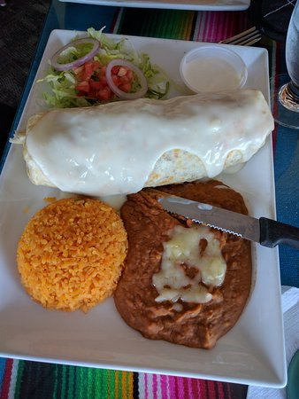 Polanco Mexican Restaurant & Cantina: Burrito