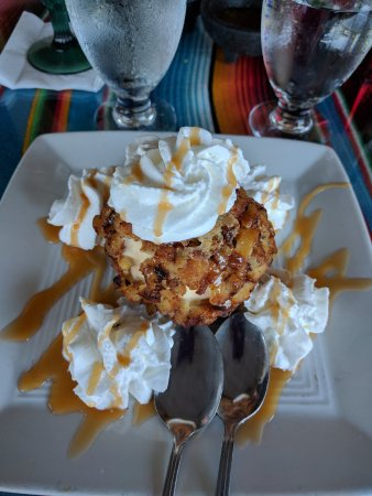 Polanco Mexican Restaurant & Cantina: Fried Ice Cream