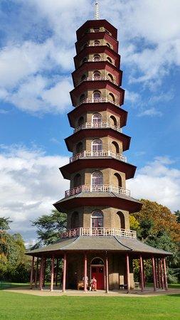 Кью, UK: chinesische Pagode