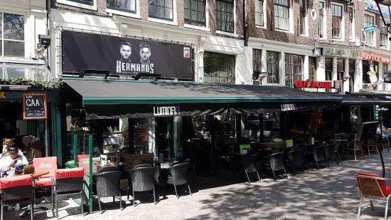 Luminaa amsterdam ristorante recensioni numero di for Hotel vicino piazza dam amsterdam