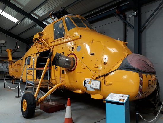 ‪‪Manston‬, UK: Wessex helicopter, a familiar sight around the coasts of Kent in the 80s‬