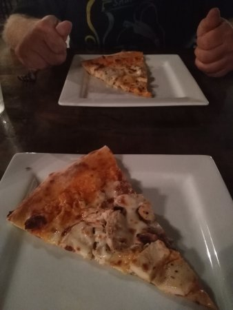 Williamsport, PA: Buffalo chicken pizza