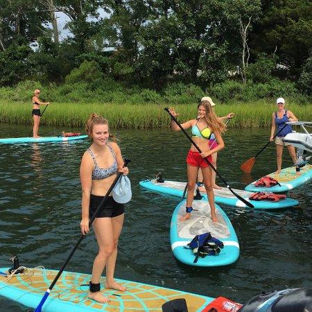 กรีนพอร์ต, นิวยอร์ก: Join us on Sunday mornings for SUP Yoga!