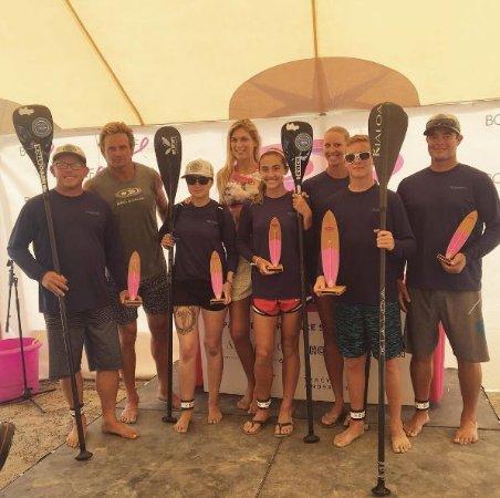 กรีนพอร์ต, นิวยอร์ก: Team One Love Beach crushing the  2016 Paddle for Pink!