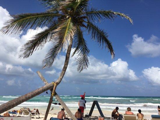Hotel CalaLuna Tulum: pic from beach club down the road