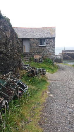 Mullion, UK: Little  house at the cove
