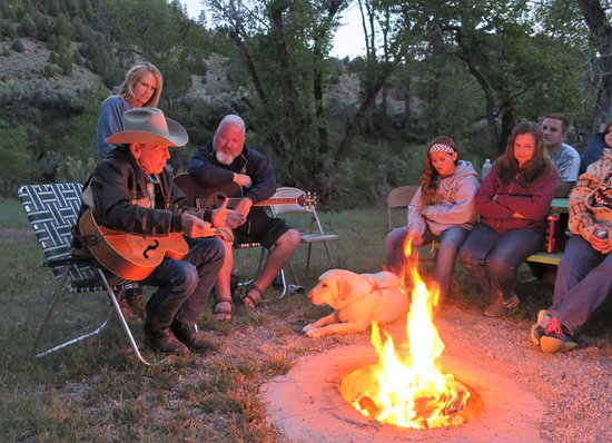 Wellington, UT: Cowboy poetry and songs around the campfire.