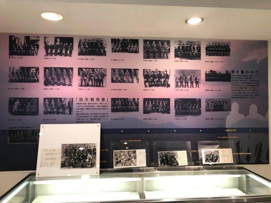 Shunan, Japan: 回天記念館にて、館内展示物。