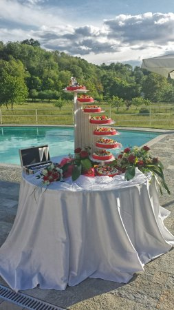 Cuvio, Italia: wedding cake