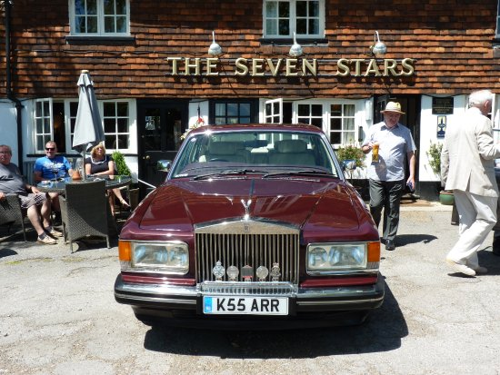 The Seven Stars at Leigh: My rolls royce