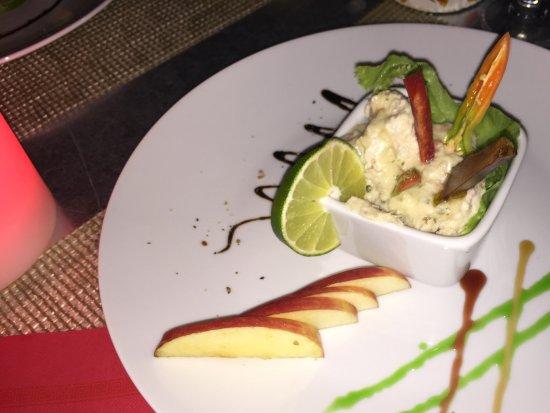 Terre-de-Haut, Guadeloupe: Rillette ... fish pate entree