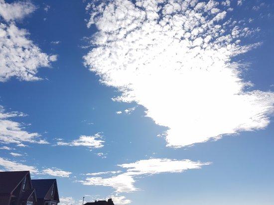 Herne Bay, UK: clouds