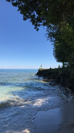 Egg Harbor, WI: Quick stop on the shoreline