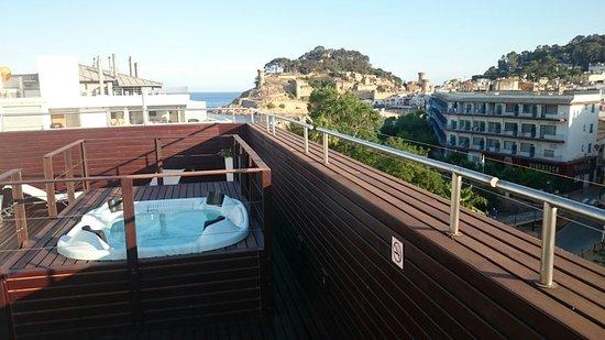 Hotel Florida : Vistas preciosas desde la terraza