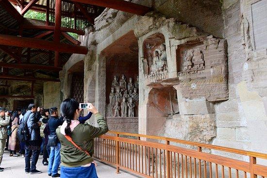 Dazu County, China: 北山摩崖石像