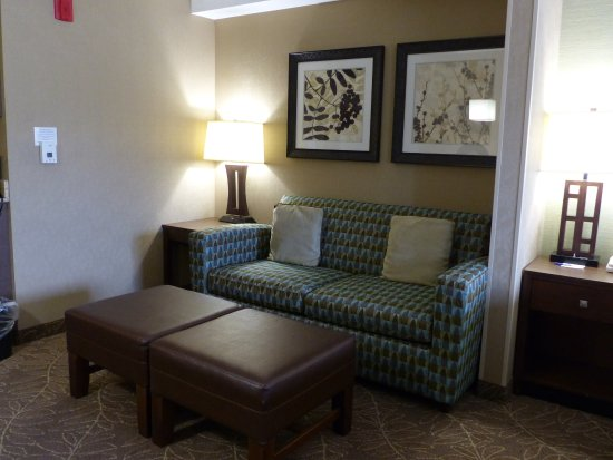 Holiday Inn Express Hotel & Suites Logan: Logan, UT HIE -- King Room Sitting Area