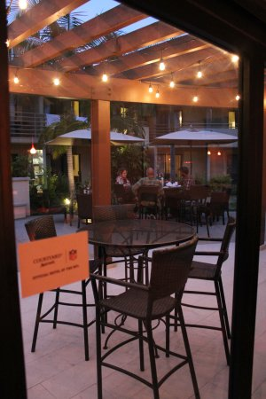 Solana Beach, Kalifornia: outside dining area