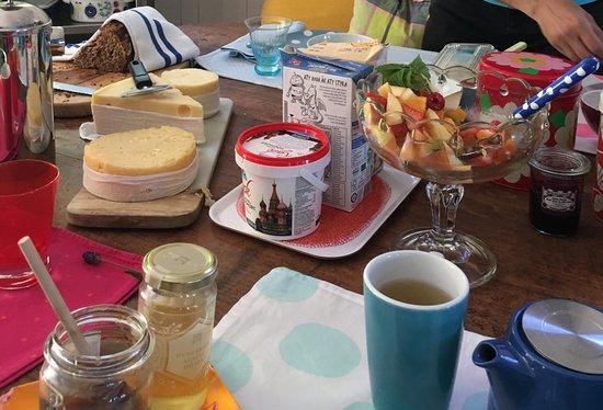 Edshultshall, Sweden: petit déj varié