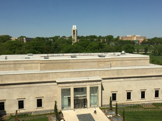 Spencer Art Museum and the KU Memorial Campanile Picture of