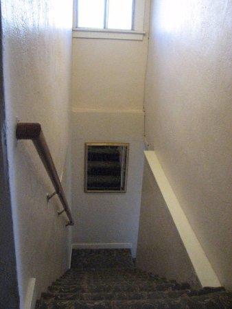 Cottonwood Hotel Stairway