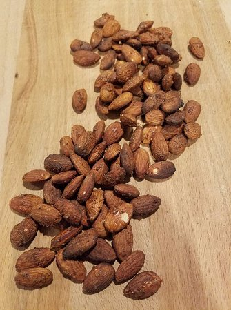 Guilford, CT: Grab a snack, memphis rubbed hickory smoked almonds.