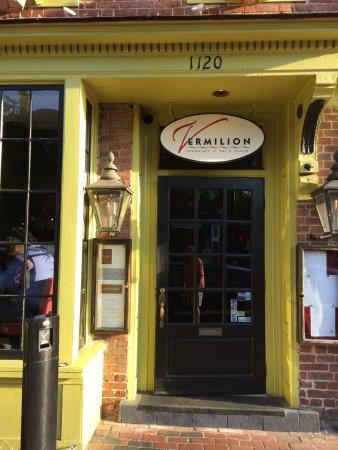 Vermilion Restaurant: Entrance