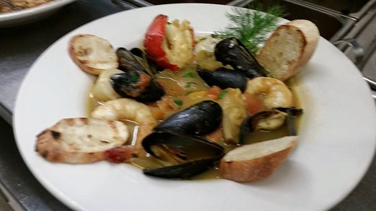 Clifton Forge, VA: Seafood Stew