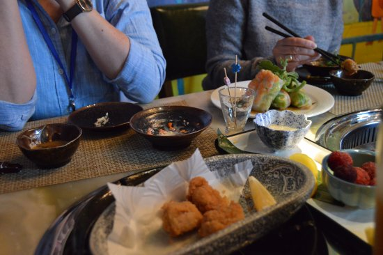 Shishi, China: From the menu